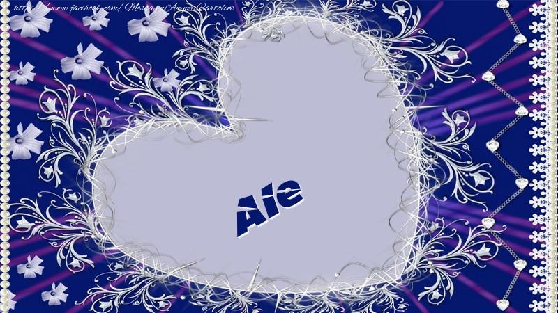 Cartoline d'amore - Ale