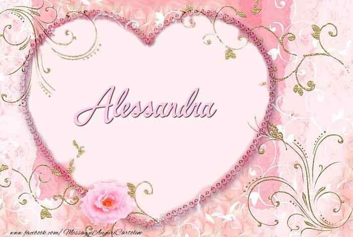 Cartoline d'amore - Alessandra