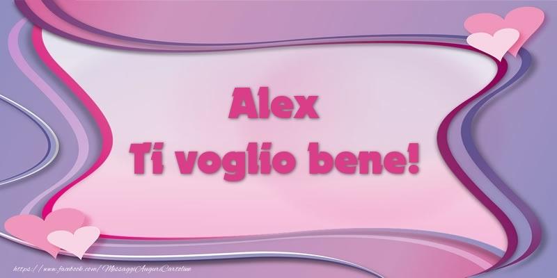 Cartoline d'amore - Alex Ti voglio bene!