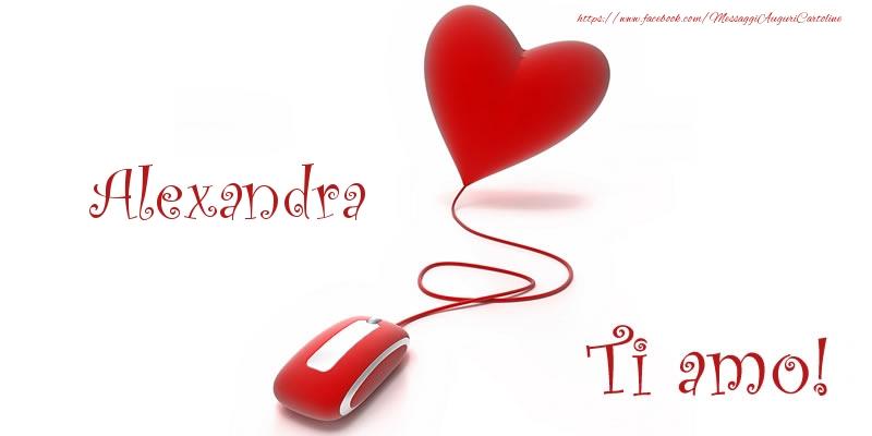 Cartoline d'amore - Alexandra Ti amo!