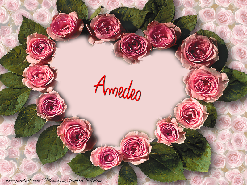 Cartoline d'amore - Amedeo