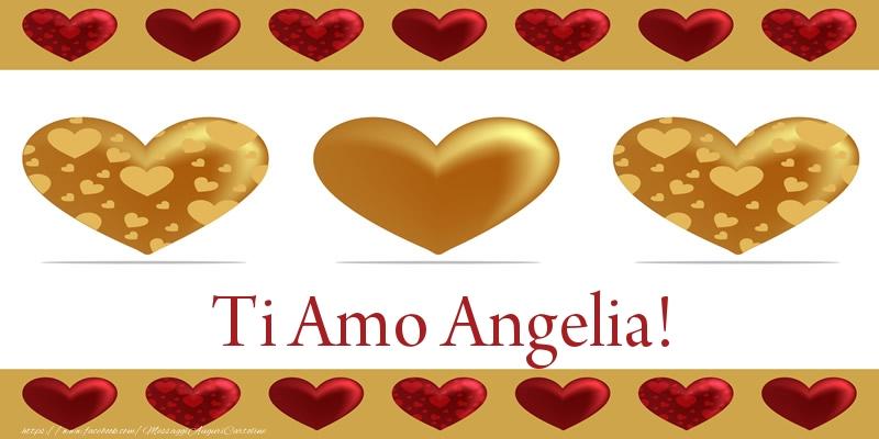 Cartoline d'amore - Ti Amo Angelia!