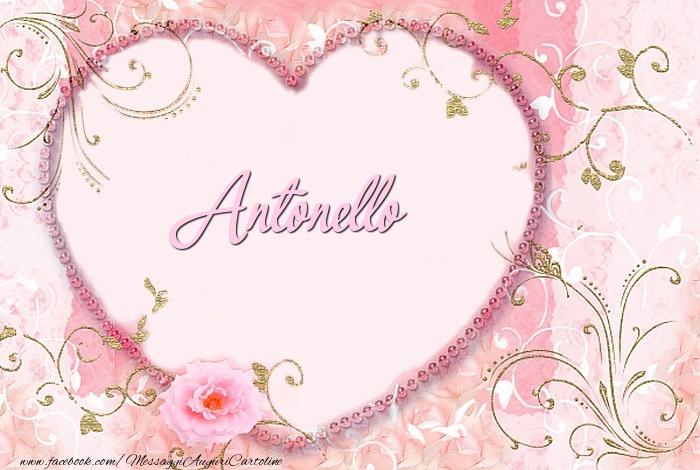 Cartoline d'amore - Antonello