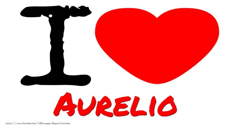 Cartoline d'amore - I Love Aurelio