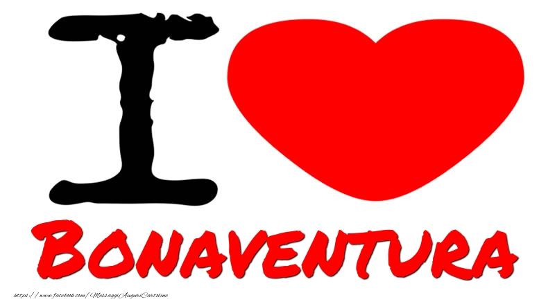 Cartoline d'amore - I Love Bonaventura