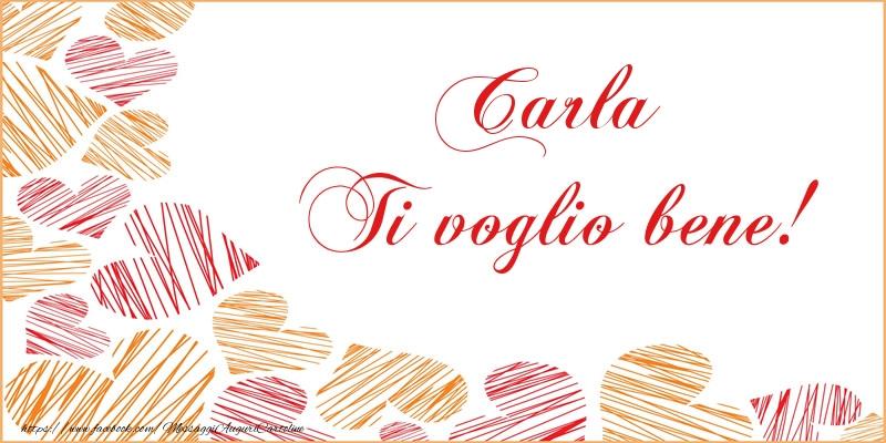 Cartoline d'amore - Carla Ti voglio bene!