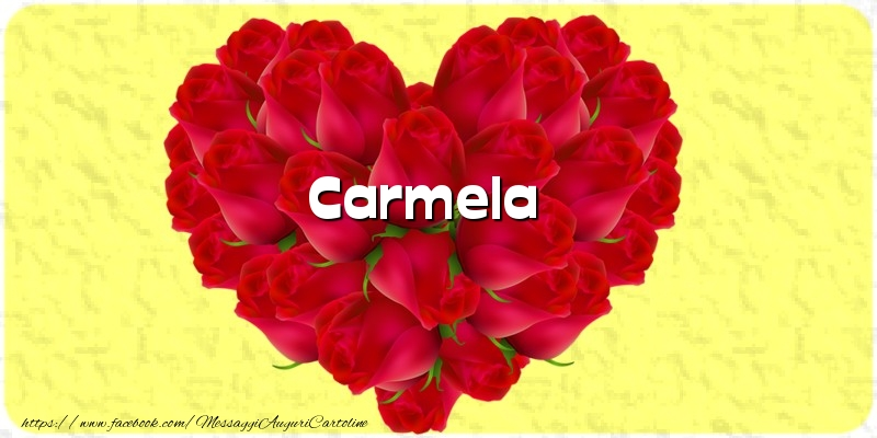 Cartoline d'amore - Carmela
