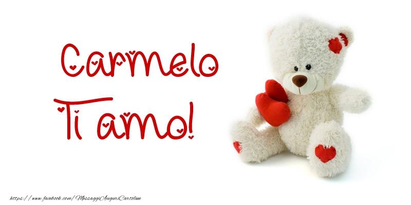 Cartoline d'amore - Carmelo Ti amo!