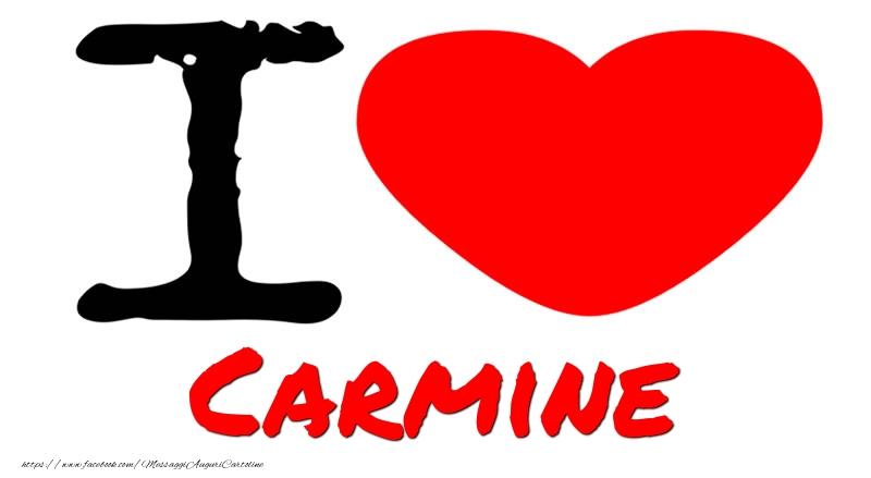 Cartoline d'amore - I Love Carmine