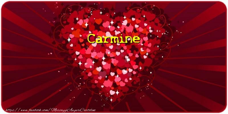 Cartoline d'amore - Carmine