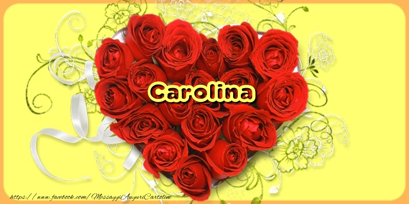 Cartoline d'amore - Carolina