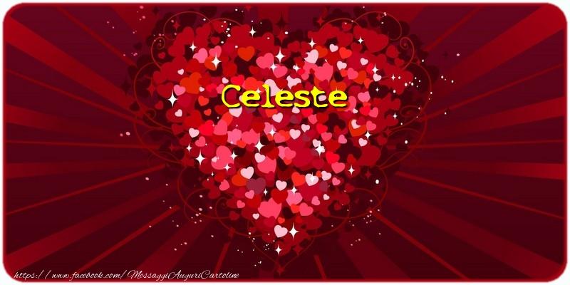 Cartoline d'amore - Celeste