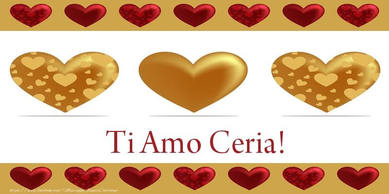 Cartoline d'amore - Ti Amo Ceria!