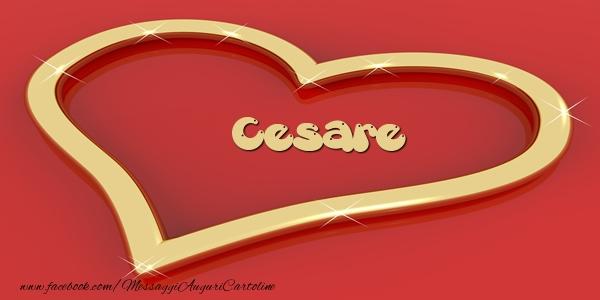 Cartoline d'amore - Love Cesare