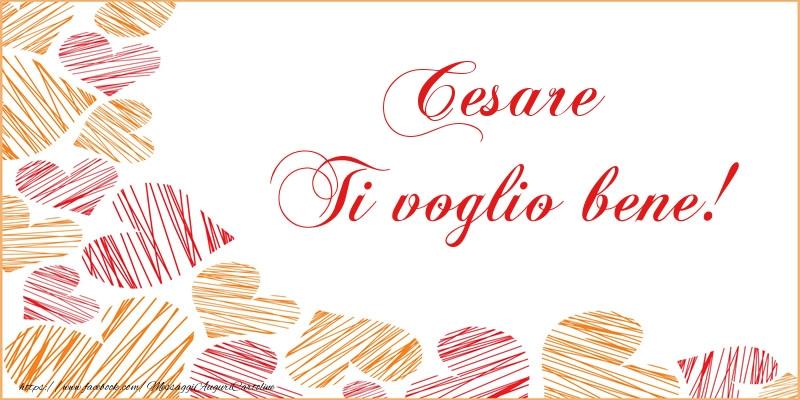 Cartoline d'amore - Cesare Ti voglio bene!