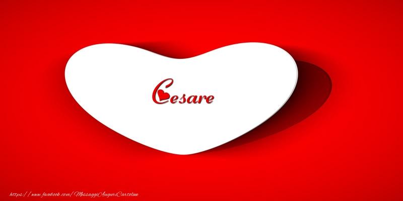 Cartoline d'amore - Cesare nel cuore