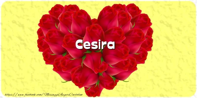 Cartoline d'amore - Cesira