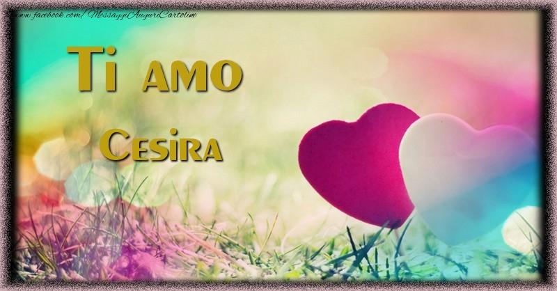 Cartoline d'amore - Ti amo Cesira