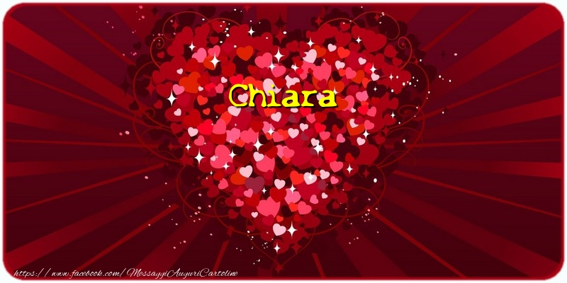 Cartoline d'amore - Chiara