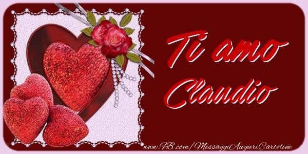 Cartoline d'amore - Ti amo Claudio