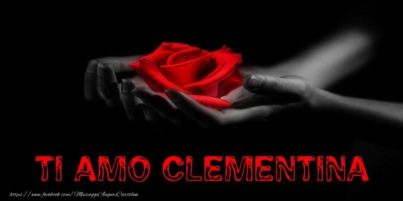 Cartoline d'amore - Ti Amo Clementina