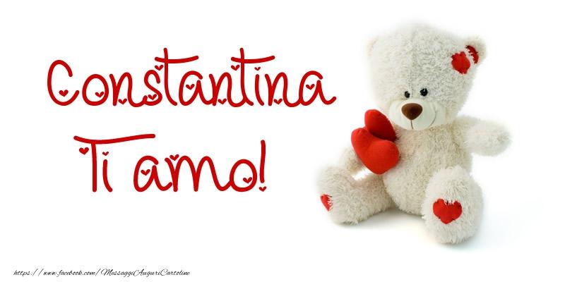 Cartoline d'amore - Constantina Ti amo!