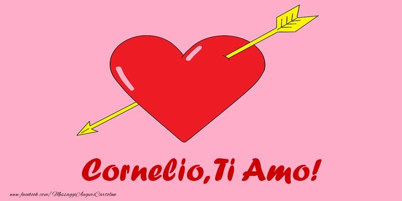 Cartoline d'amore - Cornelio, ti amo!
