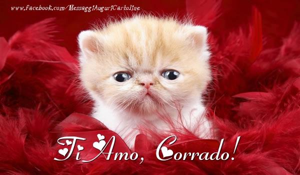 Cartoline d'amore - Ti amo, Corrado!