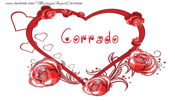 Cartoline d'amore - Love  Corrado