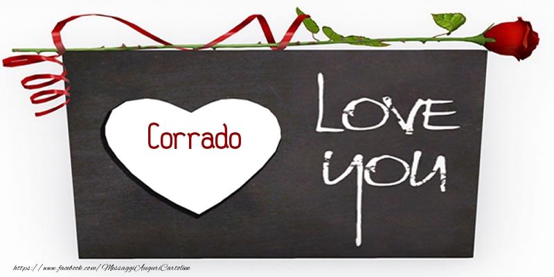 Cartoline d'amore - Corrado Love You