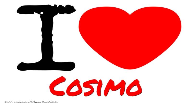 Cartoline d'amore - I Love Cosimo