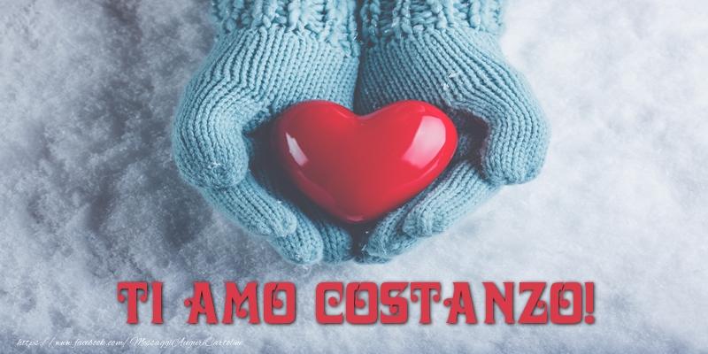 Cartoline d'amore - TI AMO Costanzo!