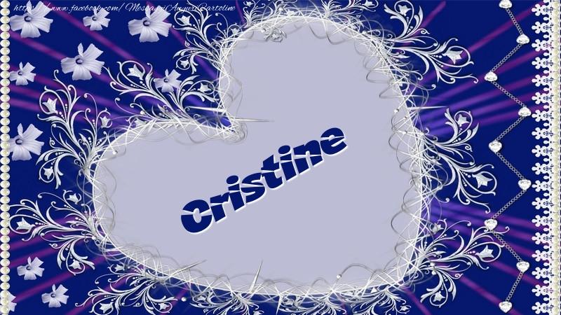 Cartoline d'amore - Cristine