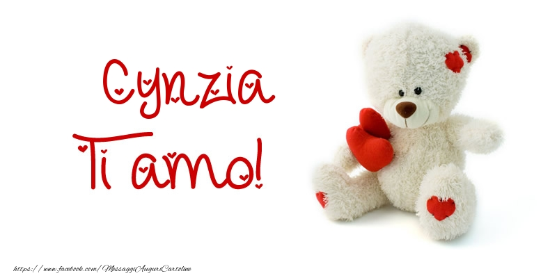 Cartoline d'amore - Cynzia Ti amo!
