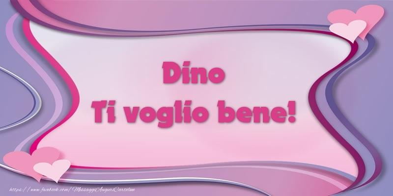 Cartoline d'amore - Dino Ti voglio bene!