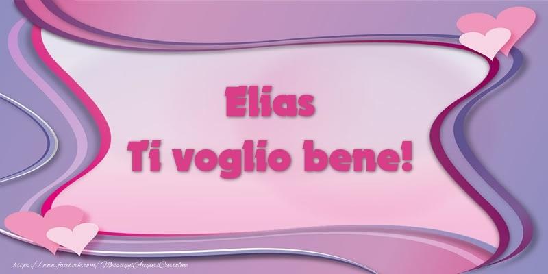 Cartoline d'amore - Elias Ti voglio bene!