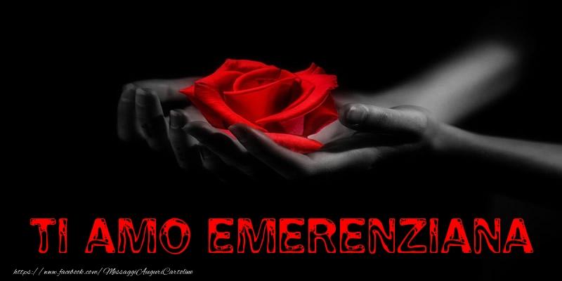 Cartoline d'amore - Ti Amo Emerenziana