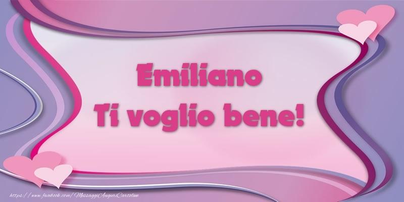 Cartoline d'amore - Emiliano Ti voglio bene!