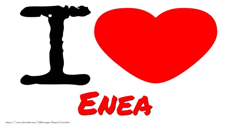 Cartoline d'amore - I Love Enea