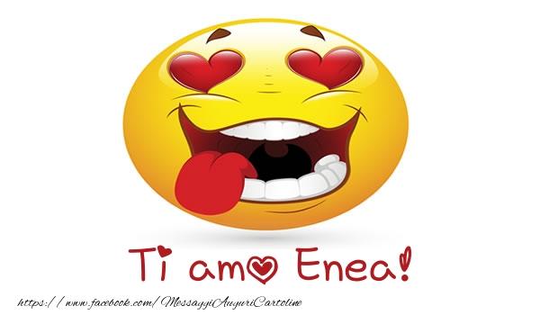 Cartoline d'amore - Ti amo Enea!