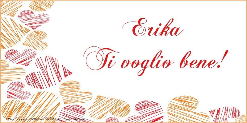 Cartoline d'amore - Erika Ti voglio bene!