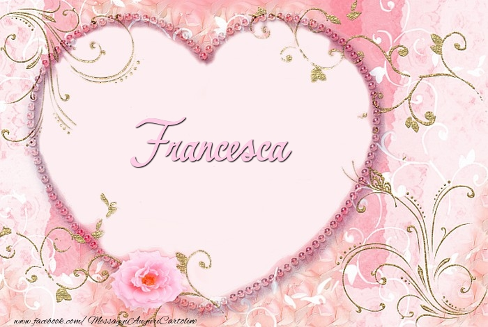 Cartoline d'amore - Francesca