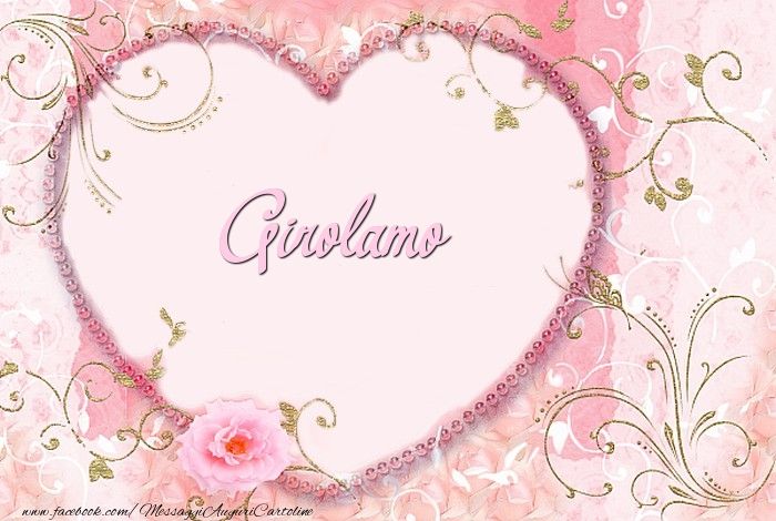 Cartoline d'amore - Girolamo