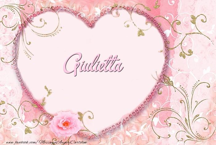 Cartoline d'amore - Giulietta