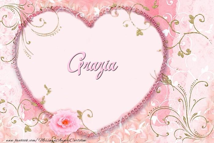 Cartoline d'amore - Grazia