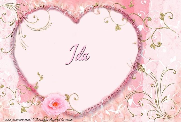 Cartoline d'amore - Ida