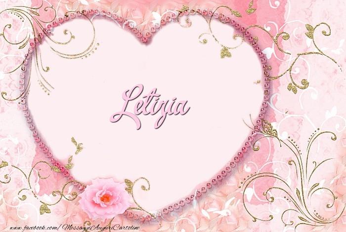 Cartoline d'amore - Letizia