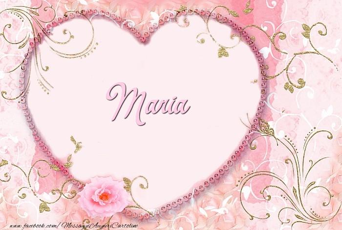 Cartoline d'amore - Maria