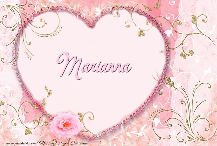 Cartoline d'amore - Marianna