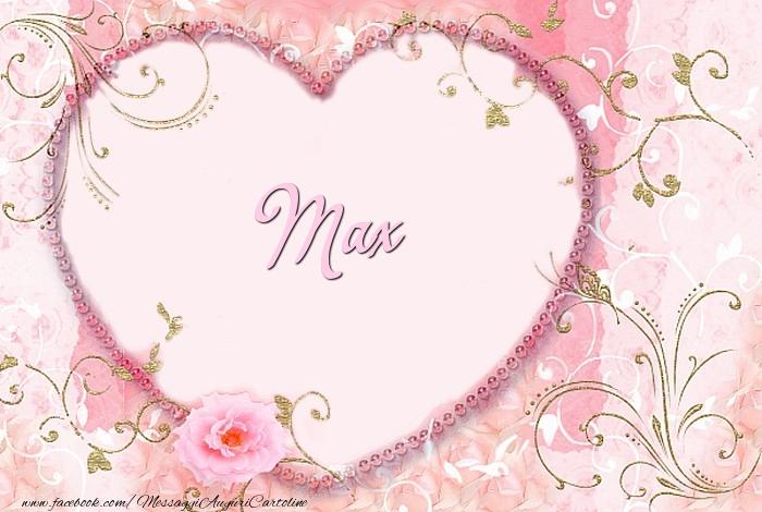 Cartoline d'amore - Max